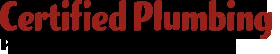 Certified Plumbing